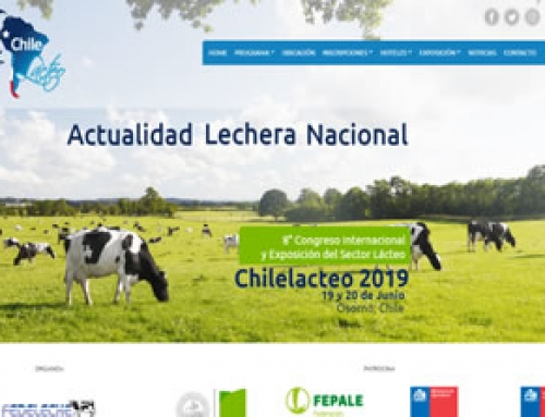 Chilelácteo 2019: disponible sitio oficial para inscripciones